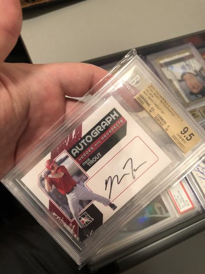 2011 Heroes & Prospects Mike Trout