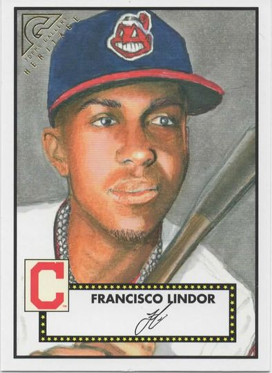 2018 TOPPS GALLERY HERITAGE FRANCISCO LINDOR H-20