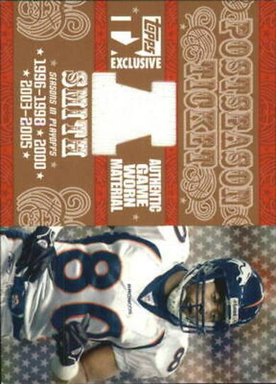 2007 Topps Postseason Ticket Rod Smith /199