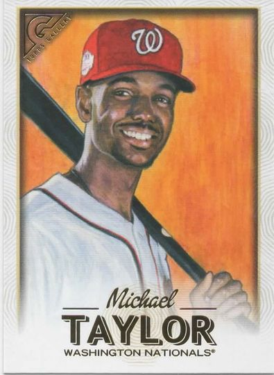 2018 topps gallery Michael Taylor 4