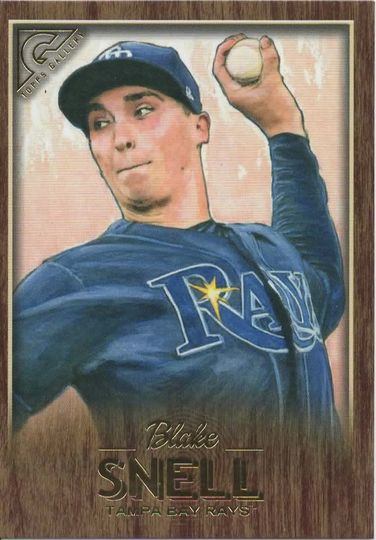 2018 topps gallery blake snell canvas 76