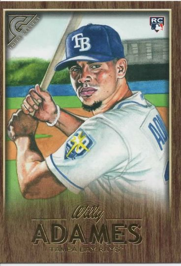 2018 topps gallery willy adames 66