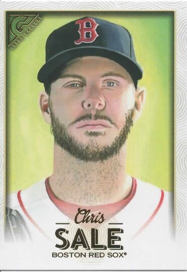 2018 TOPPS GALLERY CHRIS SALE 120