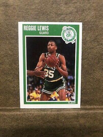 1989 Fleer Reggie Lewis