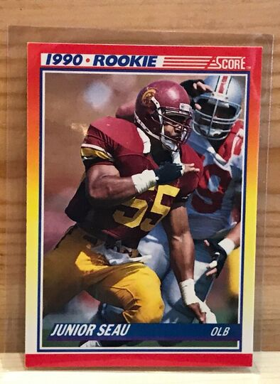1990 score junior Seau