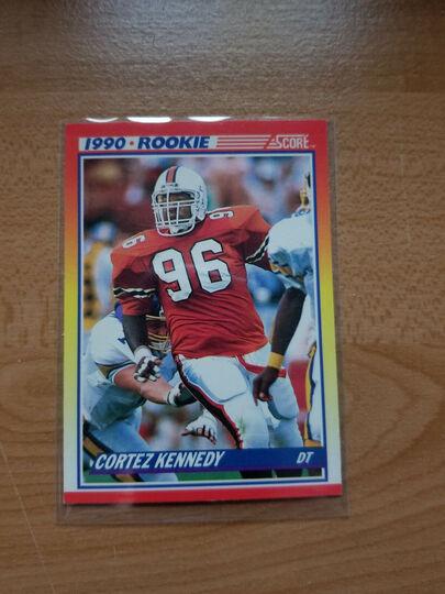 1990 score Cortez Kennedy