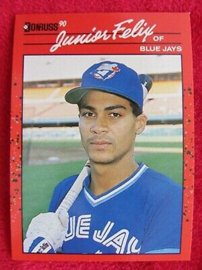 1990 Donruss Junior Felix