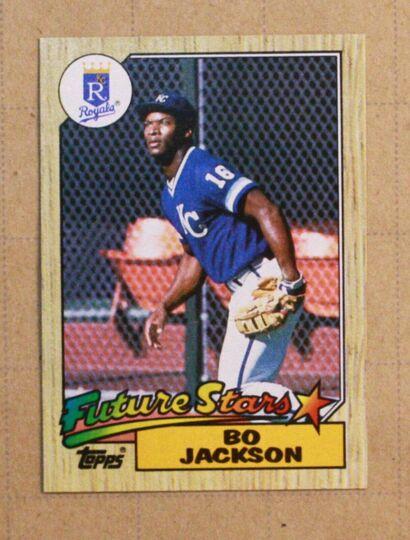 bo jackson card#170