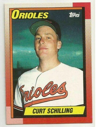 curt schilling card #97