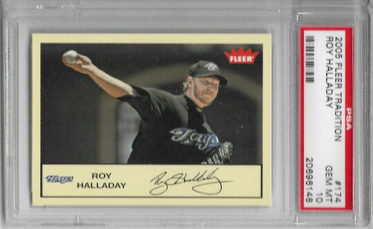 roy halladay 174 2005 fleer