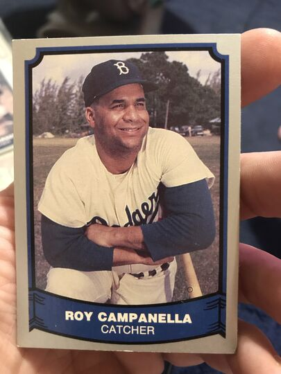 legends # 47 roy campanella