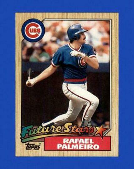 1987 Topps Rafael palmeiro