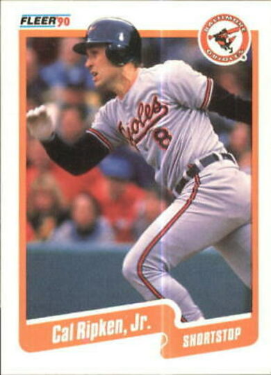 1990 Fleer Cal Ripken Jr