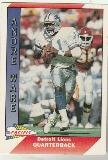 1991 Pacific Andre Ware