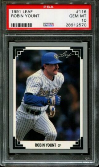 1991 Leaf Robin Yount