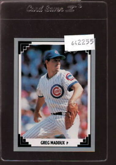 1991 Leaf Greg Maddux