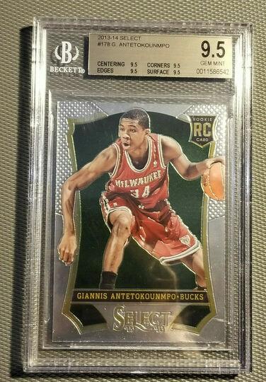 2013-14 Select Giannis antetokounmpo Rookie Card