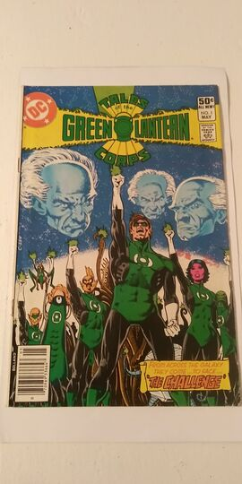 TALES OF THE GREEN LANTERN CORPS #1 1981