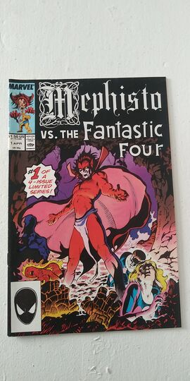 MEPHISTO VS. THE FANTASTIC FOUR #1 1987