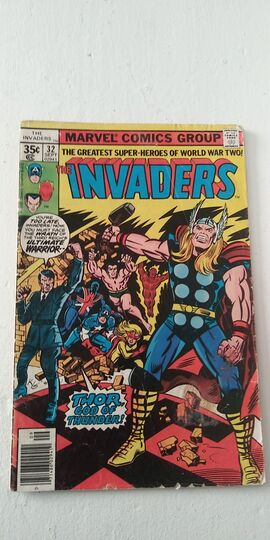 THE INVADERS #32 1978