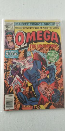 OMEGA THE UNKNOWN #8 1976