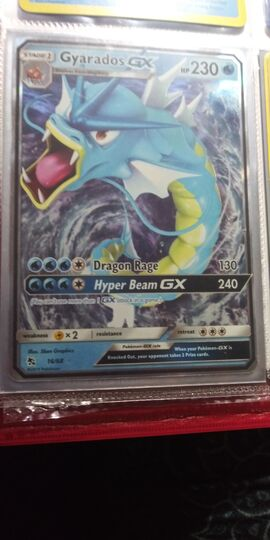 Gyarados GX 16//68 Hidden Fates ULTRA RARE Pokemon Card NEAR MINT