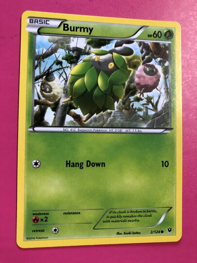 Burmy Collection Image