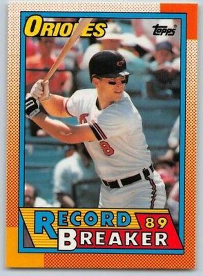 cal ripken jr 8 1990 topps