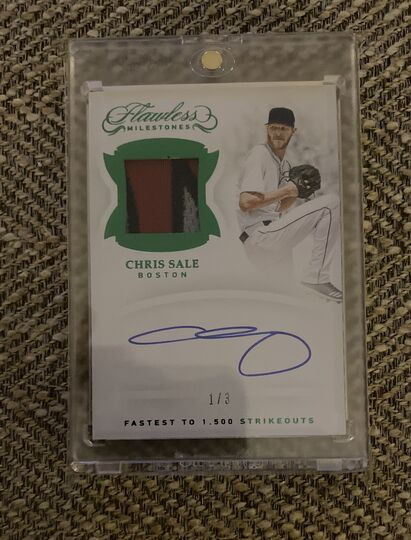 2019 Flawless Chris Sale Auto