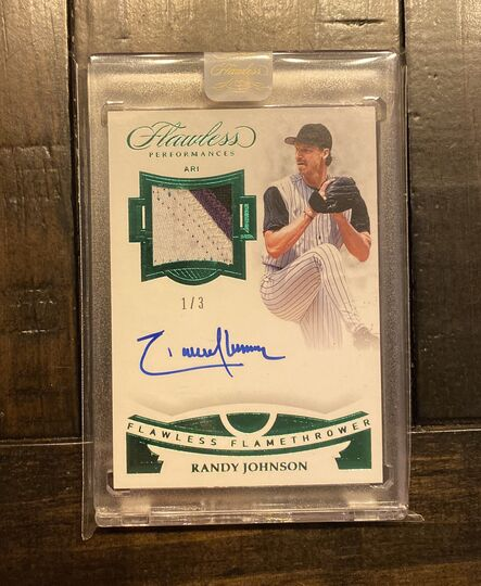 2019 Flawless Randy Johnson Auto