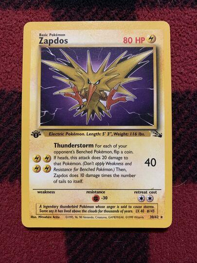 zapdos 30/62 base set