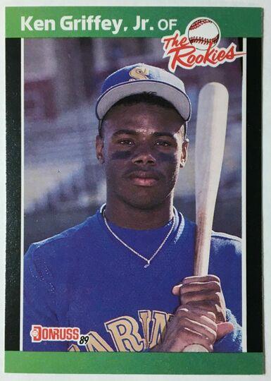 1989 Donruss #3 Ken Griffey Jr the rookies