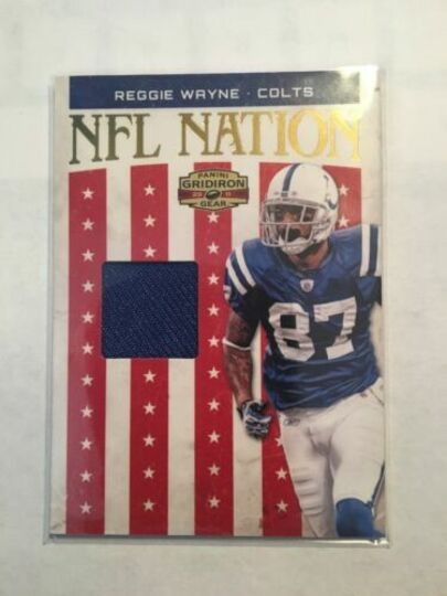2011 Panini NFL Nation Reggie Wayne