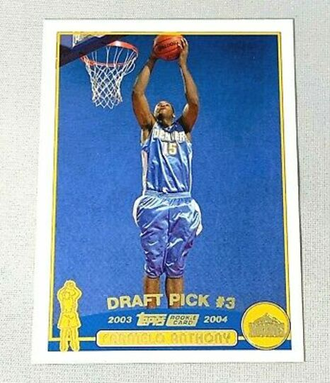 2003-04 Topps Collection Carmelo Anthony #223