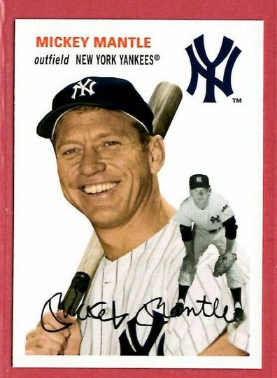 2012 topps mickey mantle #22