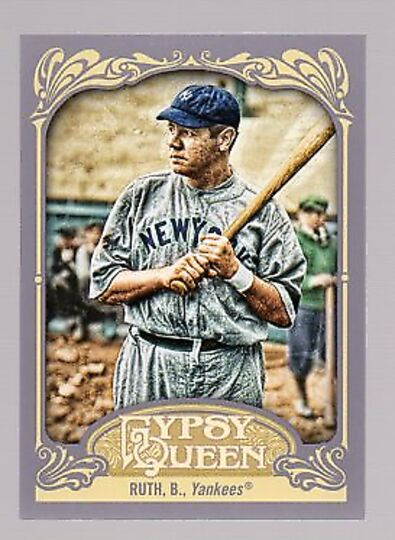 2012 topps gypsy queen babe ruth #300