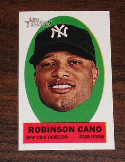 2012 topps robinson cano #13