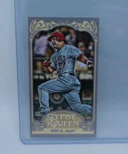 2012 topps gypsy queen mini mike trout #195