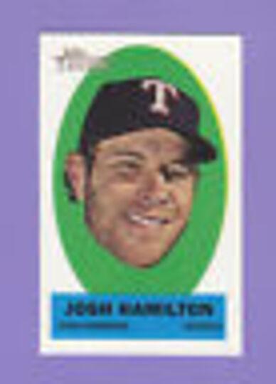 2012 topps heritage josh hamilton #7