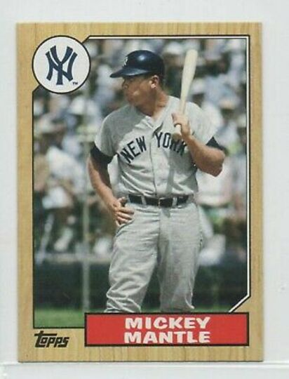 2012 topps mickey mantle tm-96