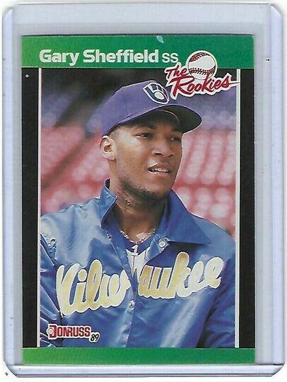 1989 donruss gary sheffield the rookies