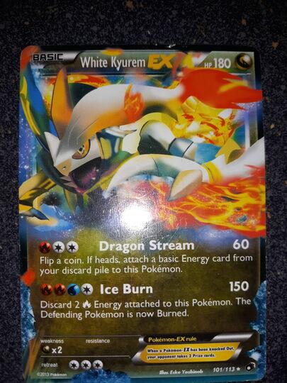 white Kyurem EX 101/113