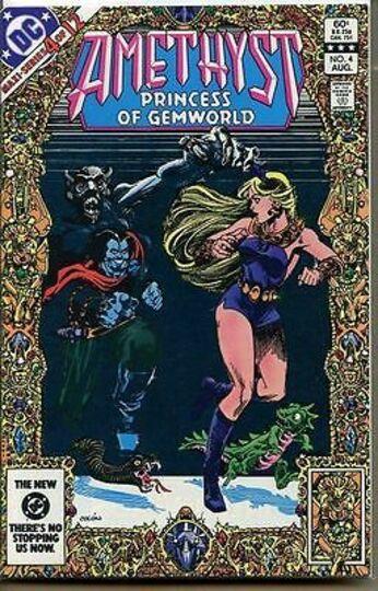 AMETHYST #4 1983
