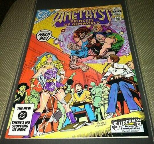 AMETHYST #5 1983