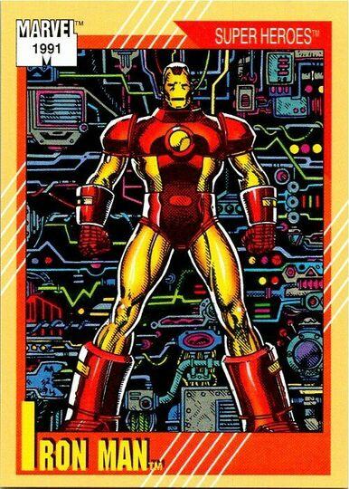 1991 iron man card