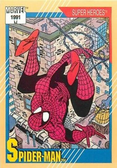 1991 spider-man card