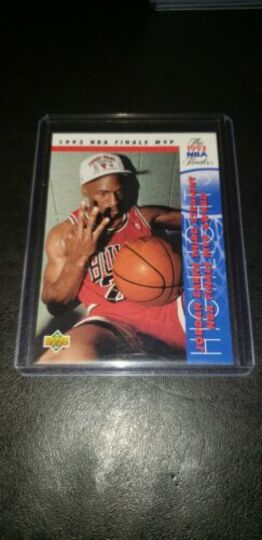 upper deck 1993 finals mvp michael jordan