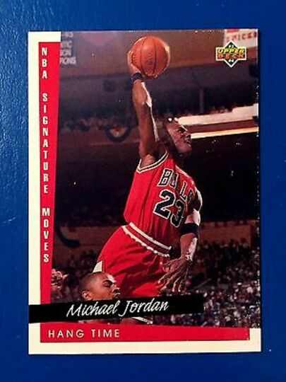1993-94 bulls upper deck hang time