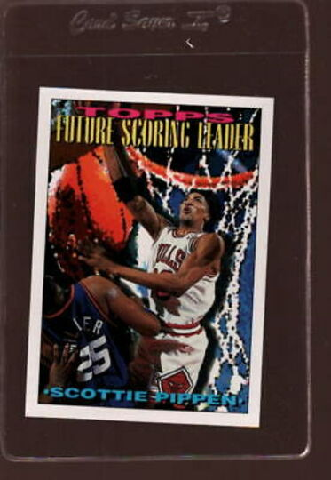 topps future scoring leader scottie pippen