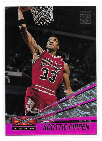 topps stadium club scottie pippen
